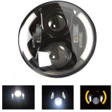 7 '' para Jeep Wrangler 90W High Power LED Headlight, Hi / Lobeam