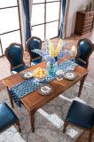 Nuevo estilo Country americano mesa de comedor y una silla de madera (AD311)