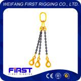3本の足の溶接された合金鋼鉄G80は持ち上がる吊り鎖を連鎖する