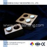 Hölzerne Tellersegmente für komprimierte Gewebe, Bambusmaterial