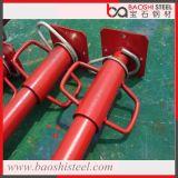 Puntello d'acciaio registrabile galvanizzato dell'impalcatura per cassaforma