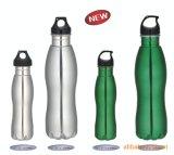 Venta caliente de acero inoxidable tazas del viaje Deportes botella de agua del recorrido de la botella Dn-202A