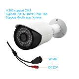 H. 265の4.0MP機密保護ネットワーク防水屋外IPのカメラ