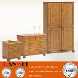 Gabinete de sala de estar de madeira de madeira de carvalho de cor natural