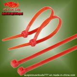 fascette ferma-cavo di nylon autobloccanti di colore rosso di 4X200mm
