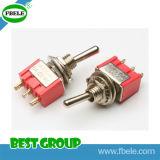 高品質IP67のトグルスイッチのDpdtの小型トグルスイッチ(FBELE)