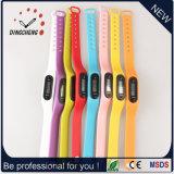 Het Horloge van de Armband van het Silicone van het Polshorloge van de Sport van de Horloges van de pedometer (gelijkstroom-003)