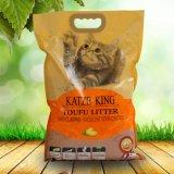 Vier Art der Tofu-Katze Verunreinigen-Ursprünglich, grüner Tee, Kaffee, Bambuskohlenstoff