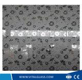 vetro rivestito di arte della vernice di 4-6mm con argento