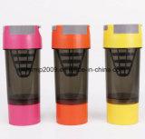 600ml 21oz 3 Schichten Isolierplastikwasser-Freuden-Schüttel-Apparatflaschen-