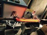 Macchina di bobina elettrica del collegare del riscaldamento di Superaudio di induzione portatile di frequenza 60kw in azione