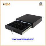 品質のPOSシステムKer-300bのための黒い金属の現金引出し