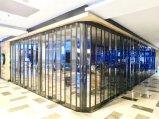 Vidro corrediço de policarbonato/porta rebatível