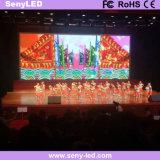 Farbenreiche Innen-LED-Bildschirmanzeige für Miete
