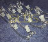 Gldg 2in1 Male aan Female Glass Drop Down voor mmMale Female Joint Glass Waterpijp van 10/14/18