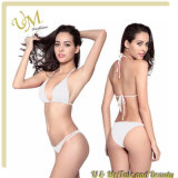 Оптовые продажи с возможностью горячей замены моды купальный костюм белого цвета линии бикини секси леди В.Путин купальный костюм