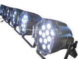 PARITÀ di fusione sotto pressione di alluminio 64 dell'indicatore luminoso di PARITÀ di 12/18*18W Rgbwauv 6in1 LED