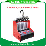 2017 el mejor lanzamiento CNC602A de la máquina CNC600 de la limpieza del inyector de combustible