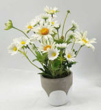 Fiori artificiali di Ganden o dell'interno della decorazione conservati in vaso