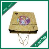 Bolsa de papel de diseño personalizado para los juguetes con la impresión de embalaje