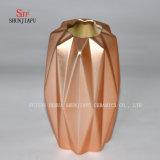 Más florero de electrochapado atmosférico simple del color/del diseño