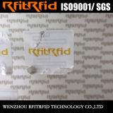 860-960MHz бирка изготовленный на заказ слипчивых стикеров миниая RFID для тележки/корабля
