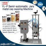 자동 장전식 압축 공기를 넣은 단지 금속 모자 캡핑 기계 (YL-P)