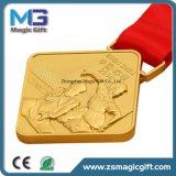 고품질 주문을 받아서 만들어진 금속 3D 메달