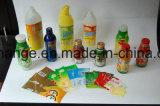 Máquina de etiquetado automática de las escrituras de la etiqueta del encogimiento de las botellas de la bebida del agua del jugo del animal doméstico