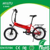 30-50km / H Velocidad máxima y litio alimentación de la batería eléctrica plegable bicicletas