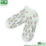 Носки отрезока низкого уровня лодыжки хлопка оптовой продажи кота киски