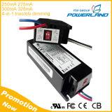 Triac in-1 della lista 11-13W 250mA 275mA 300mA 325mA 4 dell'UL che oscura il driver del LED