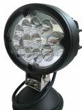 36W 5.7 lumière ovale de travail de pouce DEL pour les accessoires automatiques/camion/tous terrains (GT2012-36W)