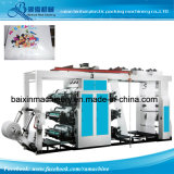 4color Plastic Film High Speed Shopping Bag Flexographic Printing Machine