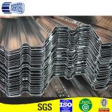 Гальванизированные плиты листов цинка 150G/M2 coated corrugated стальных/пола палубы в Китае