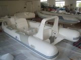 Nervurer le bateau gonflable 5.2m avec l'approbation de la CE (NERVURE 520B-4)