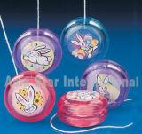 Mini yoyo transparente plástico de Pascua