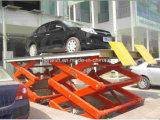 Coches de alta calidad de aparcamiento de tijera de elevación con el bajo precio