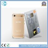최신 판매 소형 6s 소형 카드 이동 전화 매우 얇은 소형 신용 카드 셀룰라 전화