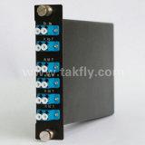 1310 Mux/Demux LC 접합기 CATV FTTH 선반 마운트 광섬유 CWDM