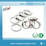 Магнит кольца редкой земли сильного неодимия поставкы фабрики Китая большой