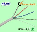 Câble LAN CAT5e avec la CE, RoHS et certificats ISO