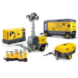 657CFM 14bar Atlas Copco Portable compresor de aire Diesel