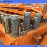 Individu Qtz160-6515 grand 10tons hydraulique érigeant la grue à tour de torse nu