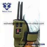 8 vendas Handheld todo el teléfono celular y emisión de la señal de WiFi Lojack GPS con el caso de nylon