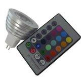 Чистый+алюминиевых РУКОВОДСТВО ПО РЕМОНТУ16 (цоколь GU5.3) RGB 1*3W Светодиодный прожектор (если-LS 60022)