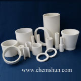 Alumina resistente all'uso Ceramic Tube Pipe Liner per Industrial Ash Removal
