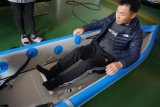 China-aufblasbarer Absinken-Heftungs-weißes Wasser-Kajak,