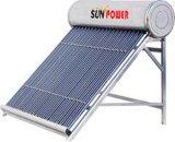 Calentador de agua solar compacto de la presión inferior