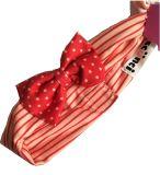 魔法テープ赤ん坊のヘッドバンドが付いている縞および点印刷の綿織物
